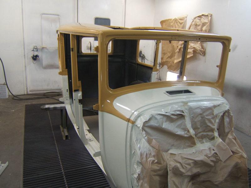 Carrosserie et peinture automobile à la chapelle quirin