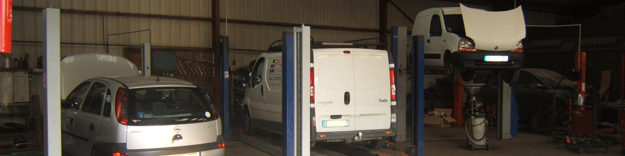 Garage mécanique à Avranches