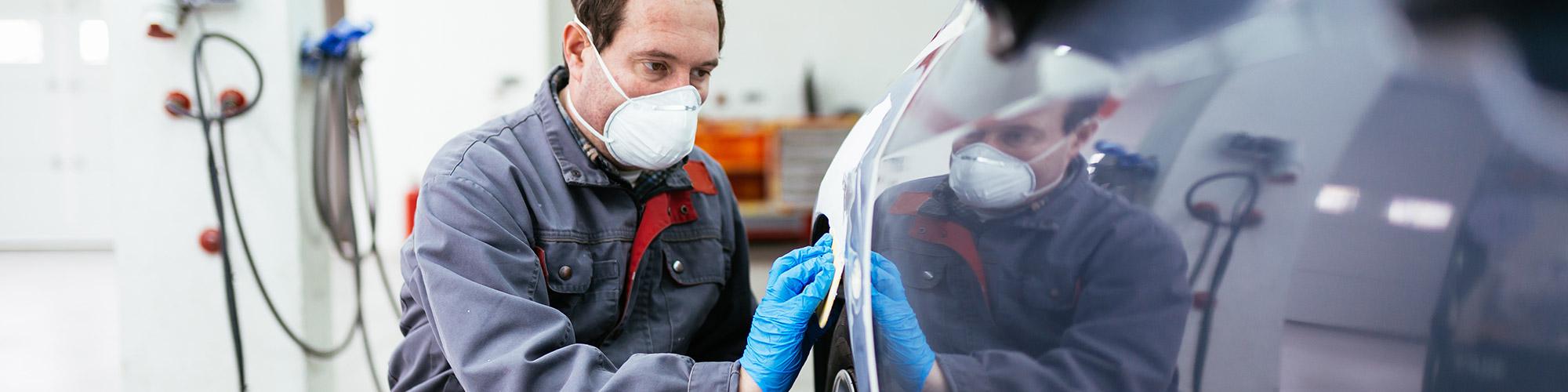 Réparation carrosserie peinture à La Chapelle Urée